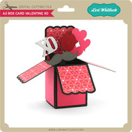 A2 Box Card Valentine XO