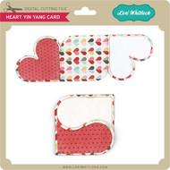Heart Yin Yang Card