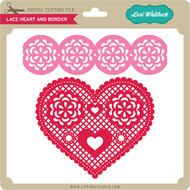 Lace Heart & Border
