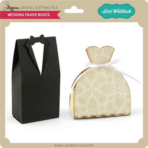 Wedding Favor Boxes Under 50 Cents : Wedding favor boxes lori whitlock s svg