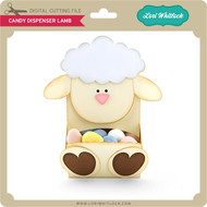 Candy Dispenser Lamb