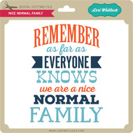 Nice Normal Family 3