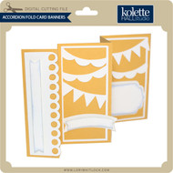Accordion Fold Card Banners