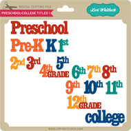 Preschool-College Titles 1