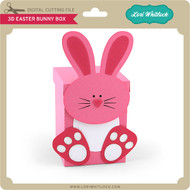 3D Easter Bunny Box