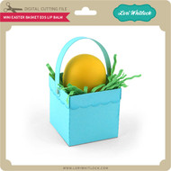 Mini Easter Basket EOS Lip Balm