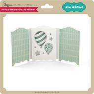 Tri-Fold Shadow Box Card Birthday
