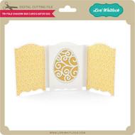 Tri-Fold Shadow Box Card Easter Egg