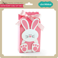 Easter Bunny Gable Gift Box