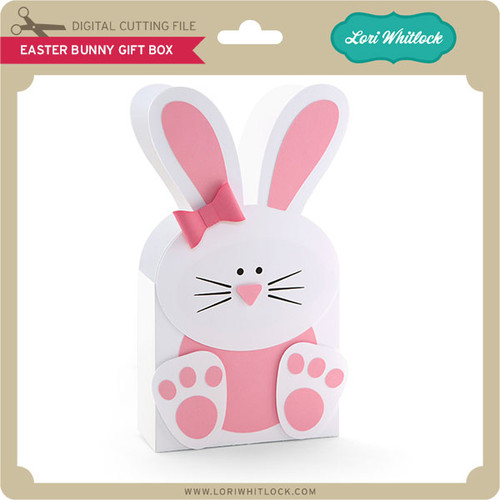 Easter bunny gift box lori whitlocks svg shop easter bunny gift box 299 image 1 negle Image collections