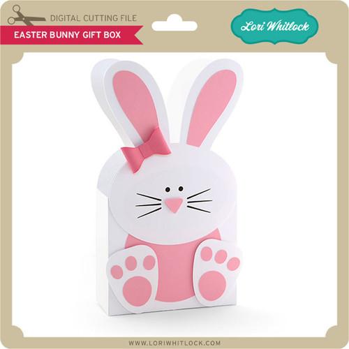 Easter bunny gift box lori whitlocks svg shop easter bunny gift box 299 image 1 negle Gallery