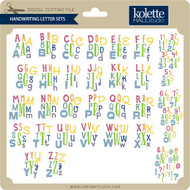 Handwriting Letter Sets
