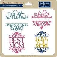 Split Flourish Mother Set
