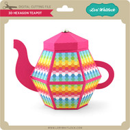 3D Hexagon Teapot