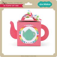 3D Teapot Gift Box