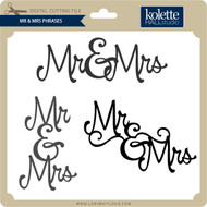Mr & Mrs Phrases