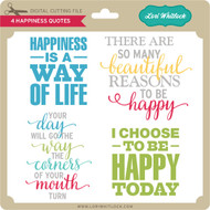 4 Happiness Quotes