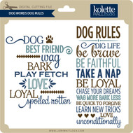 Dog Words Dog Rules