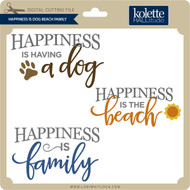 Happiness Is Dog Beach Family