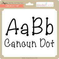 Cancun Dot Font
