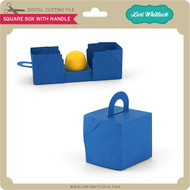 Square Box with Handle