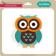 Shaped Card Owl