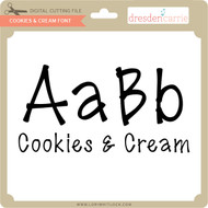 Cookies and Cream Font