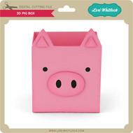 3D Pig Box