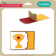 Gift Card Holder Card Trophy