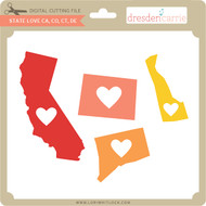 State Love ca co ct de
