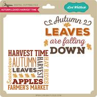 Autumn Leaves Harvest Time