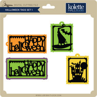 Halloween Tags Set 1
