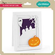 A2 Ghost Pop Dot Card