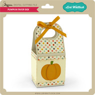 Pumpkin Favor Box 2