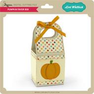 Pumpkin Favor Box 2
