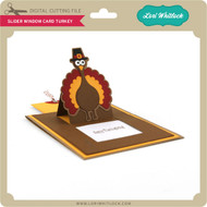 Slider Window Card Turkey