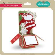 5x7 Box Card Santa