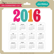 2016 Calendar P&C