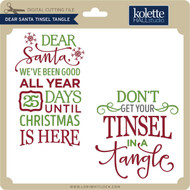 Dear Santa Tinsel Tangle