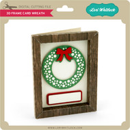 3D Frame Card Wreath