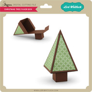 Christmas Tree Favor Box