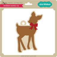 Reindeer Shaped Tag