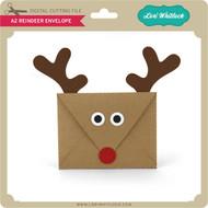 A2 Reindeer Envelope