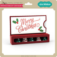 Christmas Kisses Gift Card Holder