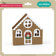 Gingerbread House Favor Box