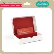 Ribbon Tie Gift Card Holder Box