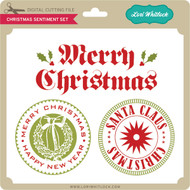 Christmas Sentiment Set