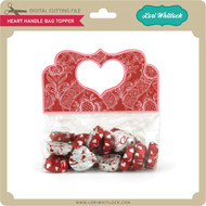 Heart Handle Bag Topper