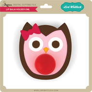 Lip Balm Holder Owl