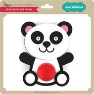 Lip Balm Holder Panda
